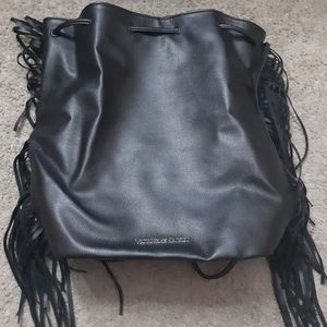 Victoria secret leather bag